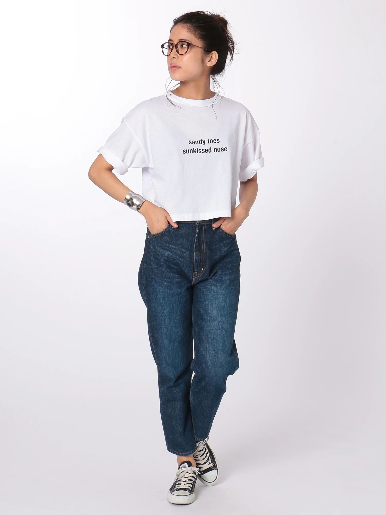 Sandy toes Tシャツ