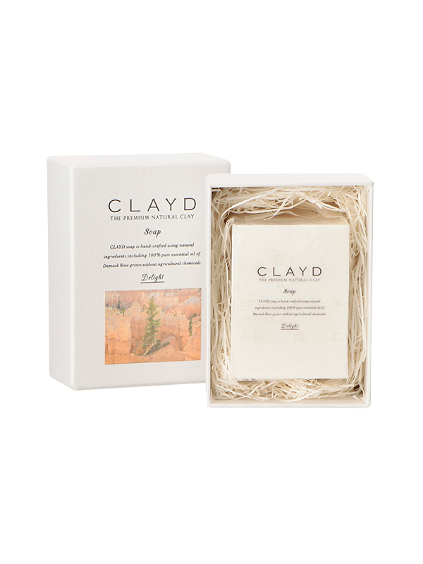 CLAYD SOAP -Damask Rose-