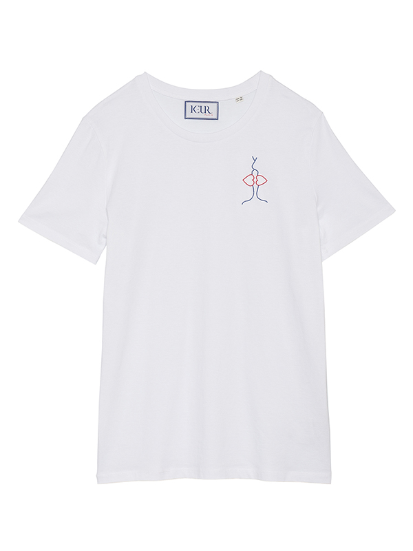 Keur Paris  FRENCH KISS TEE